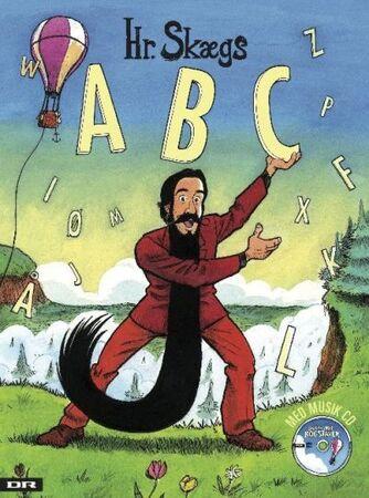 Mikkel Lomborg: Hr. Skægs ABC. Skæg med bogstaver : syng med på Hr. Skægs ABC
