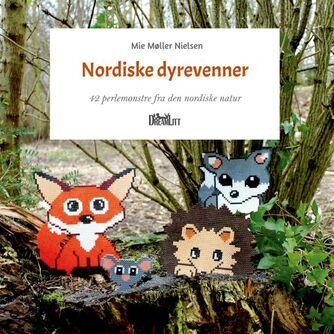 Mie Møller Nielsen (f. 1988): Nordiske dyrevenner : 42 perlemønstre fra den nordiske natur