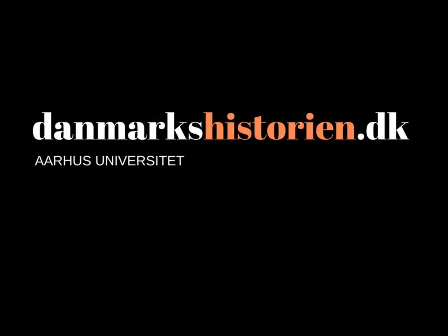 Logo for danmarkshistorien.dk