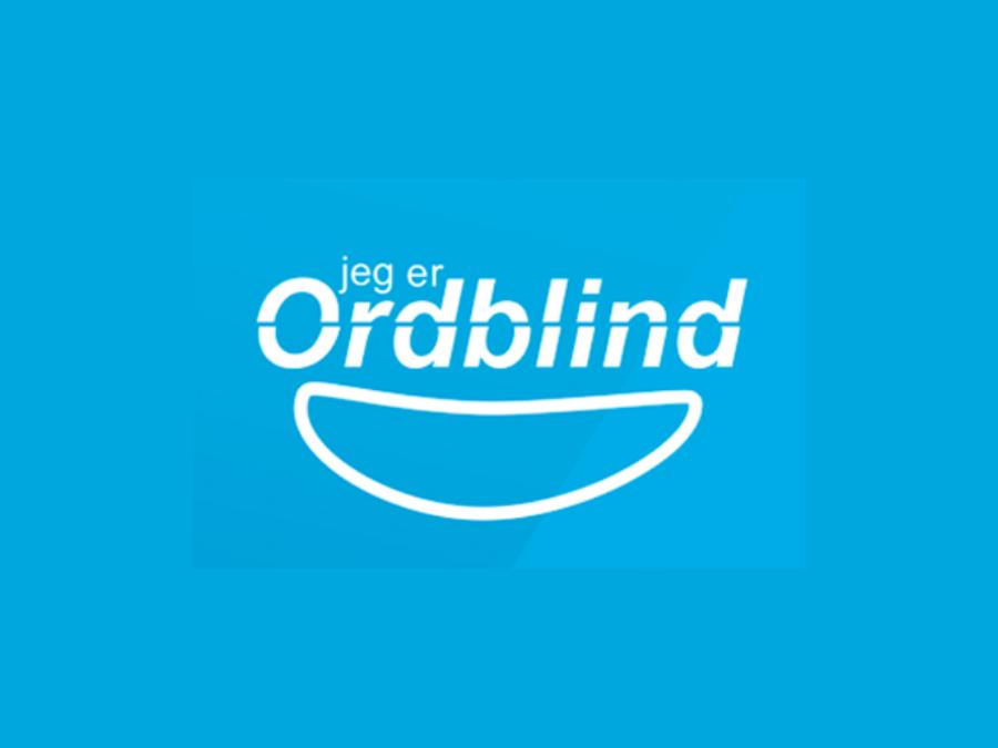 Logo til Jeg er ordblind